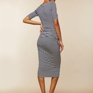 76553f56de4 Motherhood Maternity Dresses - MiMi Side Ruched Maternity Dress-sz L new w  tags